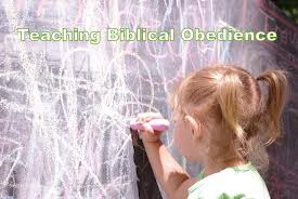 Teaching Biblical Obedience