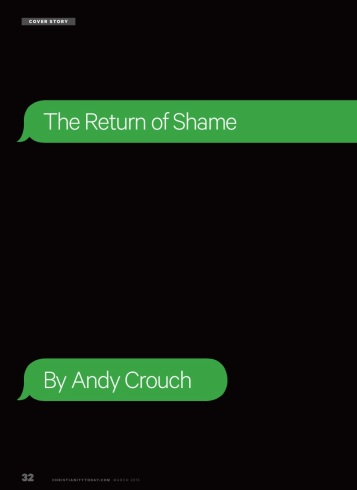 CT Cover Story--The Return of Shame (March 2015)
